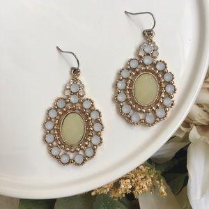 Kirks Folly Earrings Romantic Opalescent Drop